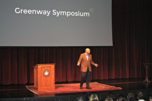 "Students Host Inaugural Greenway Symposium on ""Big Ideas"""