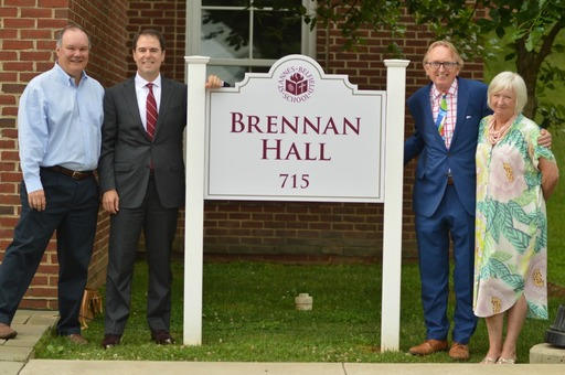 School Spaces Named for Brennan and Johnson