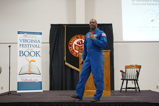 Astronaut Melvin Talks Grit, Determination, and Floating M&Ms