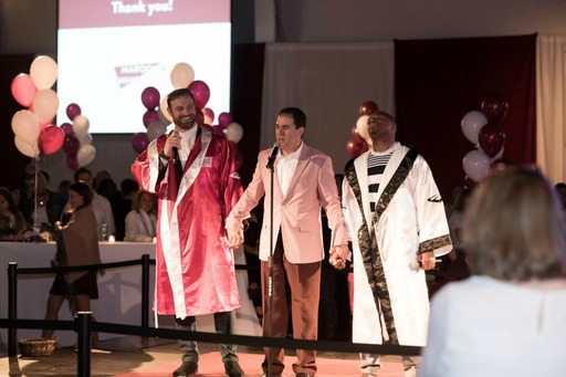 "First Annual Maroon & White Party a ""Knockout"" Success"