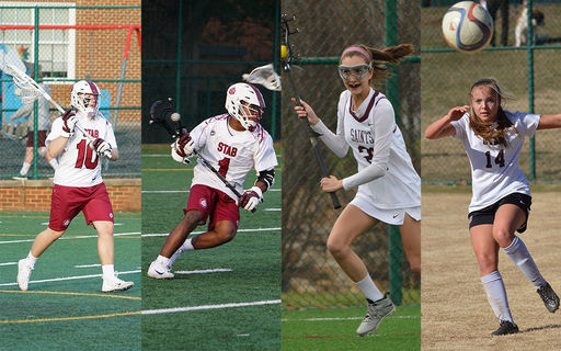 Four Spring Athletes Honored Nationally