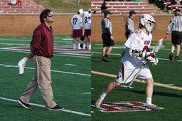 Perriello '89 and Barger '19 Receive Central Virginia Lacrosse Honors