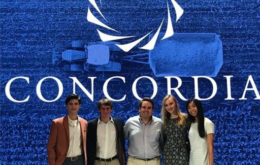 Swift '05 Hosts Students at Nonprofit, Nonpartisan Concordia Summit