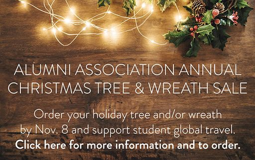 25th Annual Alumni Association Tree & Wreath Sale