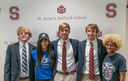 Five Saints Sign National Letters of Intent