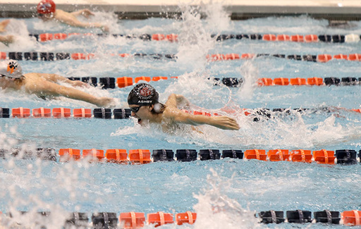 Multiple Varsity Swimmers & Divers Place in Annual Ben Hair Memorial Swim Meet