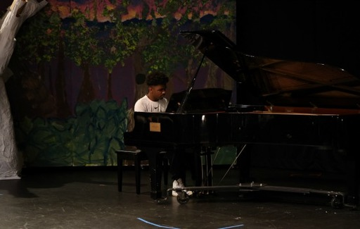 Grades 5 - 8 Students Shine in Talent Show