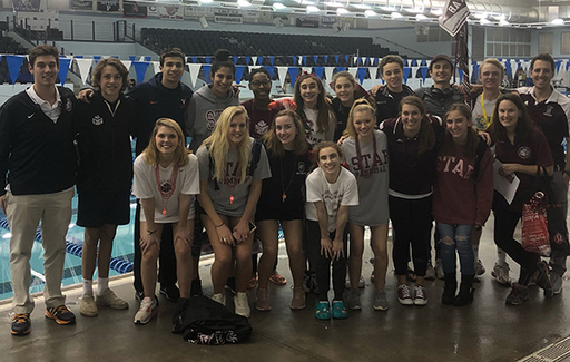 Swimming & Diving Teams Compete in State Championship