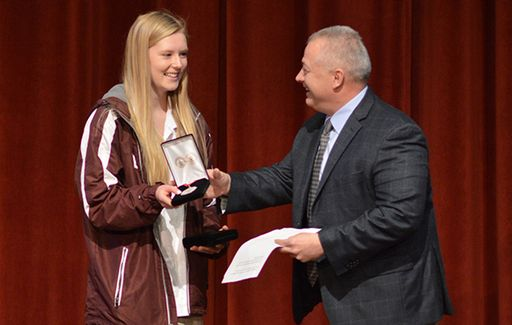 Stolz '19 Awarded Congressional Medals by Congressman Riggleman