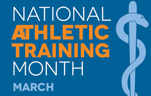 School Marks National Athletic Training Month