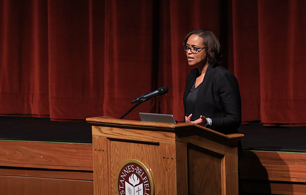 Williams Discusses Power of Sports in Society