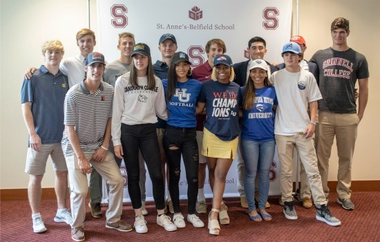14 Student-Athletes Celebrated for Collegiate Commitments