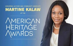 Kalaw '99 Receiving American Heritage Award