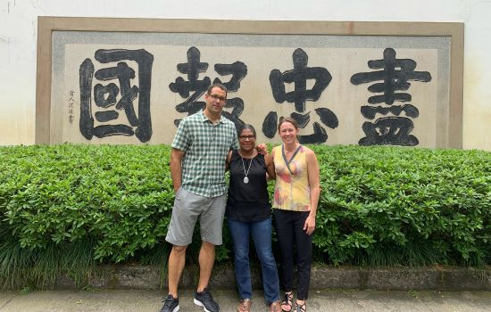 School Forges Strong Ties with China Trip